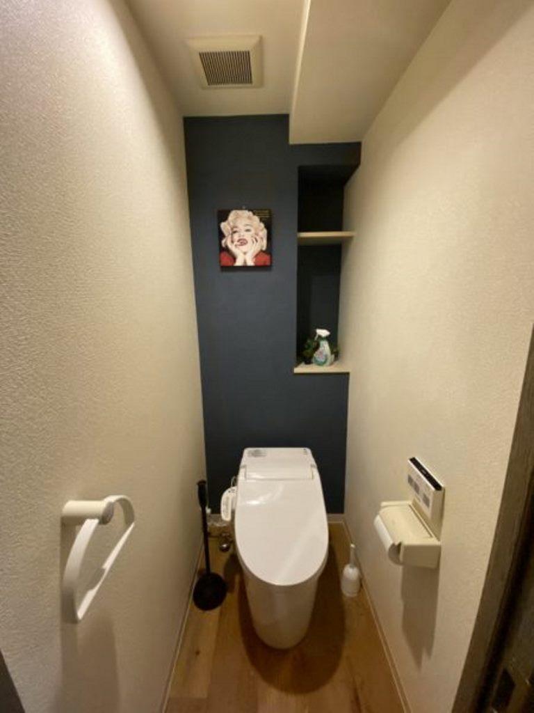 豊田神田町コーポラス2階 トイレ