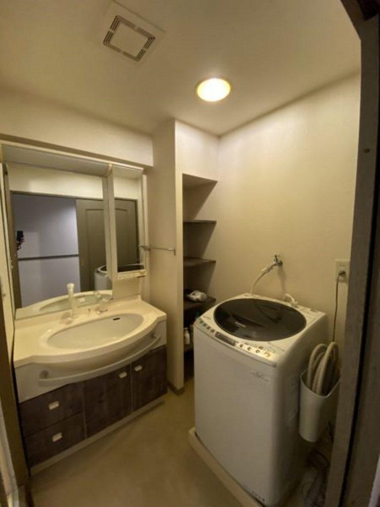 豊田神田町コーポラス2階 洗面脱衣室