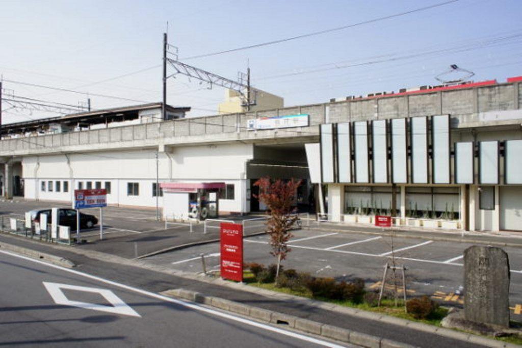 名鉄豊田線梅坪駅